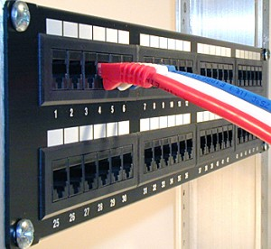 computer ,network ,patch panel