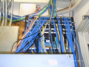 network cabling, installations