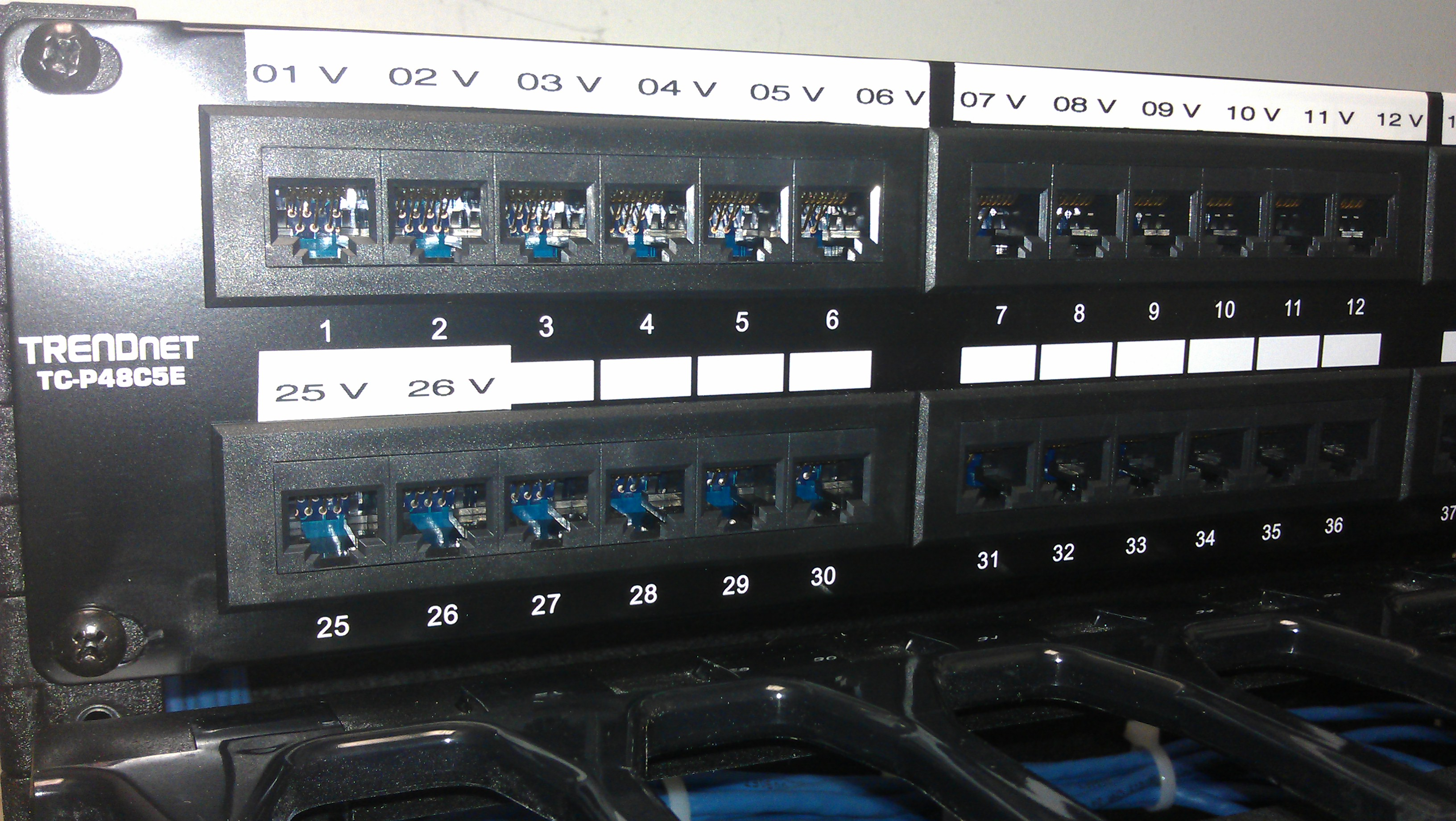 network cabling, data cabling