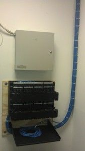 network cabling,Patch Panel Installation