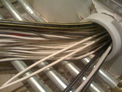 Structured cabling, data cabling, network cabling