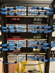 data center, network cabling