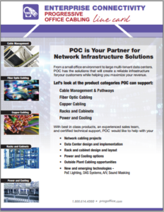 Cabling Line Card