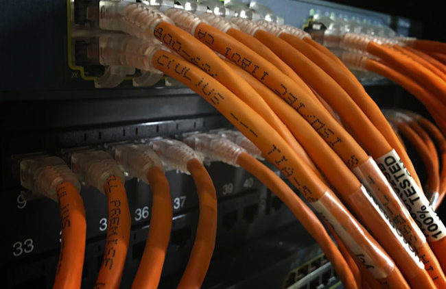 Fiber Optic Cabling,Progressive Office Cabling