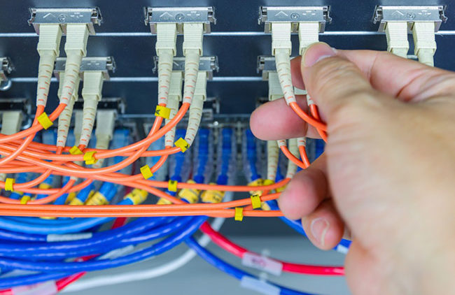 Fiber Optic Cabling, Progressive Office Cabling
